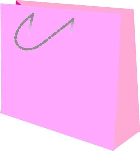růžová taška