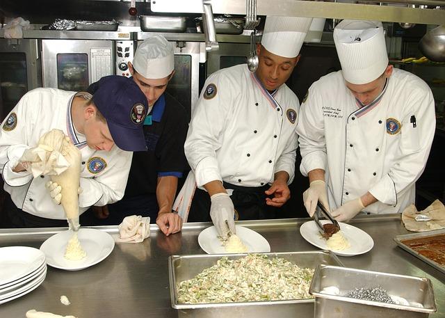 kuchyně a kuchaři