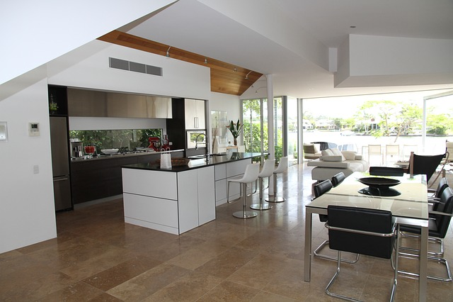 kuchyň v domě