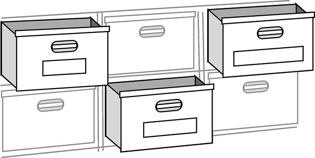 zásuvky nábytku
