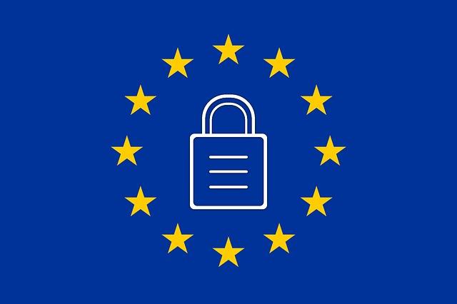 znak EU se zámkem