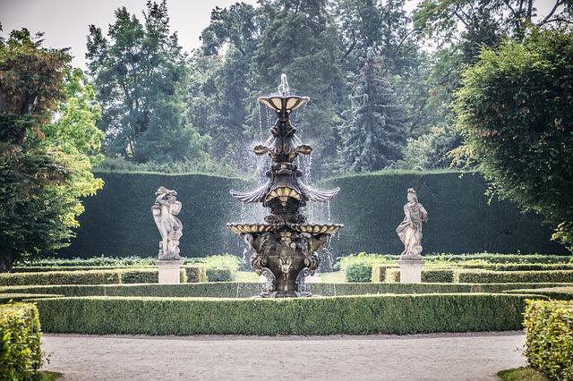 zahrada zámku Lednice