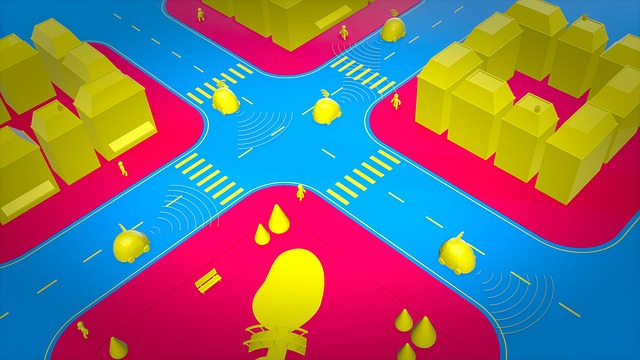 Mapování ulic v 3D prostoru