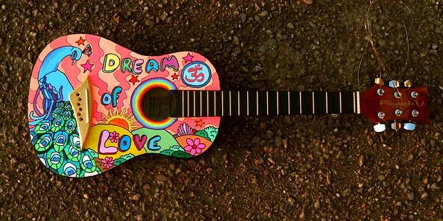 hippie kytara