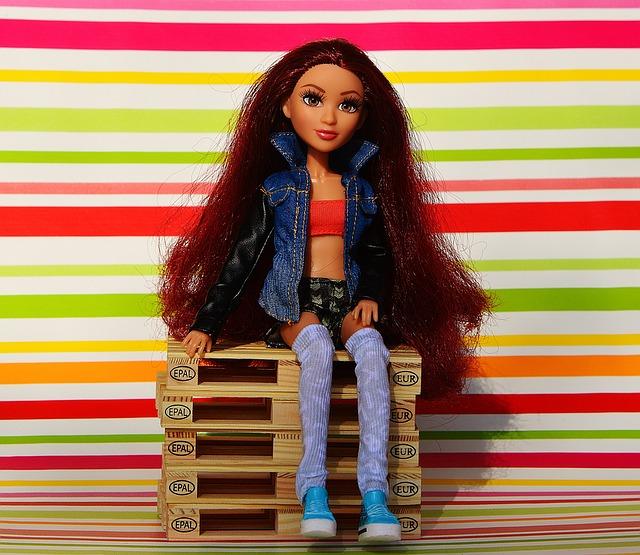 Barbie na paletách