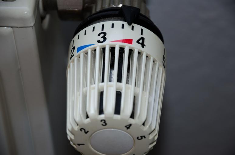 termohlavice na topení