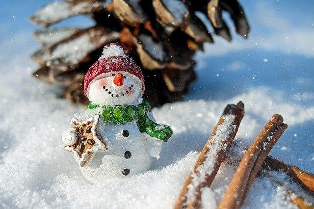 sněhulák dekorační